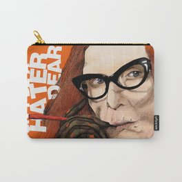 Myrtle Snow || Don't be a hater, dear (from American Horror Story: Coven) Carry-All Pouch