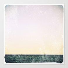 summer sail (pastel) Canvas Print