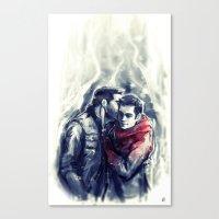 sterek Canvas Prints featuring sterek III by AkiMao