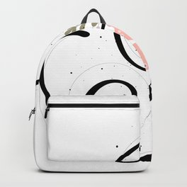 Letter I of the alphabet Backpack