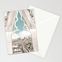Framed city view - Milano Stationery Cards