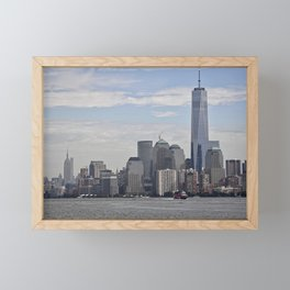 West Side Views Framed Mini Art Print