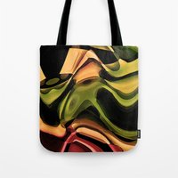 rustic Tote Bags featuring Rustic by AlexinaRose