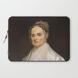 Lucretia Coffin Mott Oil Painting Portrait Laptop Sleeve
