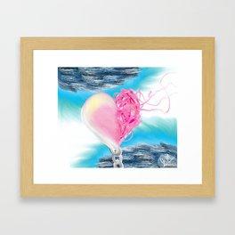 Heart Unwound Framed Art Print