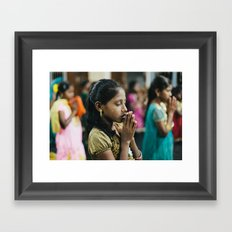 Faith of an Orphan Framed Art Print