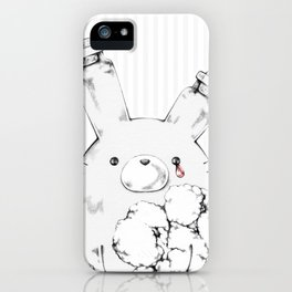 Sentimental Implosion: don't cry! iPhone Case