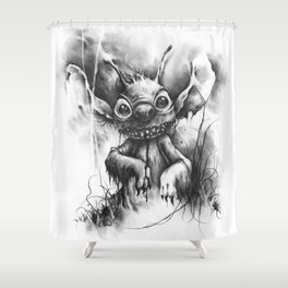 The Revenge of Experiment 626 Shower Curtain
