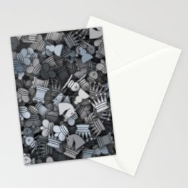 Chess camouflage Stationery Cards