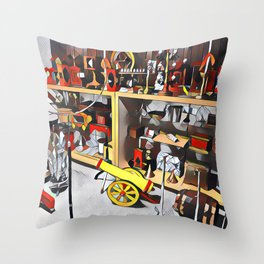 The Finest Magic Collection Throw Pillow