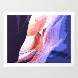Canyon Art Print