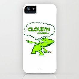 Cloud'n iPhone Case