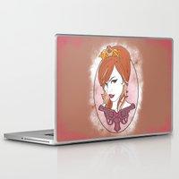 princess Laptop & iPad Skins featuring Princess by AnnaCas