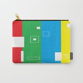Simple Color Primary Colors Carry-All Pouch