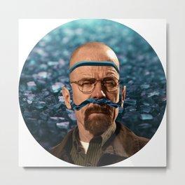 Heisenberg - Walter White Metal Print