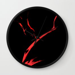 Red light Wall Clock