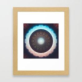 Position Relative Framed Art Print