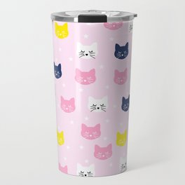 Cute Cats Travel Mug