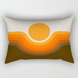 Golden Canyon Rectangular Pillow
