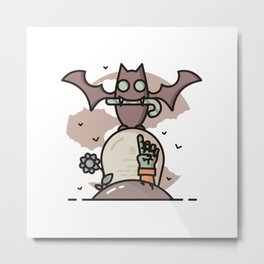 Candy giver Metal Print