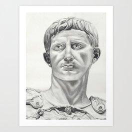 Augustus Caesar Art Print