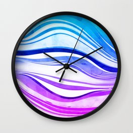 Melting Vivids, 2016 Wall Clock