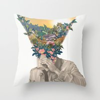Recapture Throw Pillow