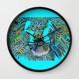 The Proud Lion (By Anjuri) Wall Clock