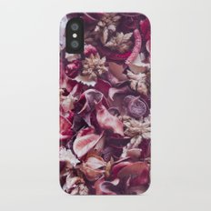 Dried fruits and leaves. iPhone X Slim Case
