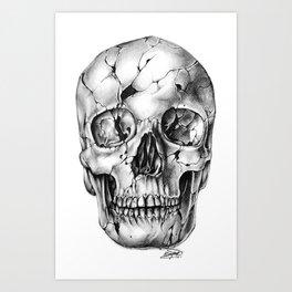 Fissure 2 Art Print