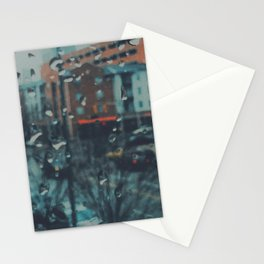 Rainy day out of focus Stationery Cards