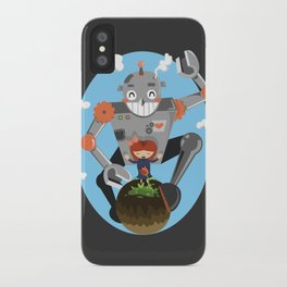 Last flower on earth iPhone Case