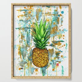 Pineapple Dreams Serving Tray