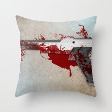 Game over Throw Pillow