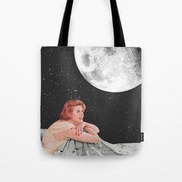 Moon Blanket Tote Bag