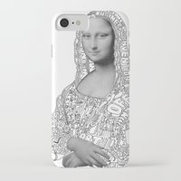mona lisa iPhone & iPod Cases featuring Mona Lisa by nice to meet you