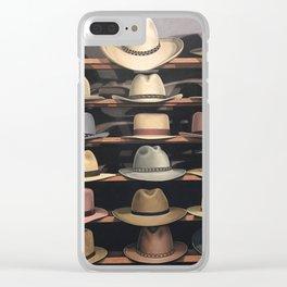 Arizona Hats Clear iPhone Case