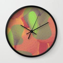Leopard Cactus Wall Clock