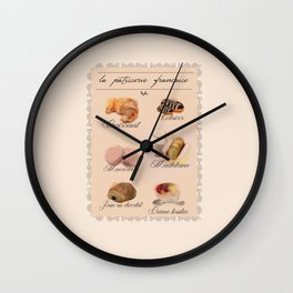 Lovely French Patisserie  Wall Clock