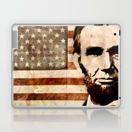 Abraham Lincoln Laptop & iPad Skin