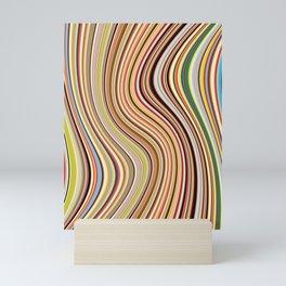 Old Skool Stripes - Flow Mini Art Print