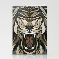 lion Stationery Cards featuring Lion by Andreas Preis