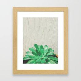 Green Thumb Framed Art Print