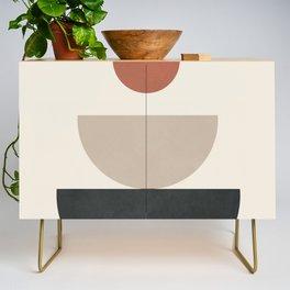 Geometric Modern Art 30 Credenza