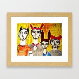 CHANFRADOS Framed Art Print