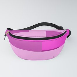 Pink Abstract Pattern Fanny Pack