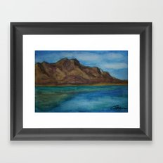 Tawny Mountain WC160608-12d Framed Art Print