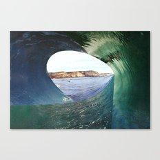 colagem 8 Canvas Print