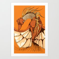 Autophoenix Art Print