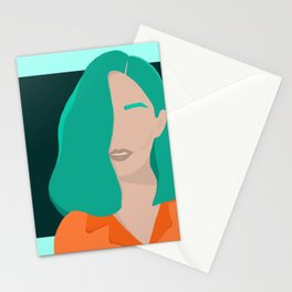 Hint of Mint Stationery Cards